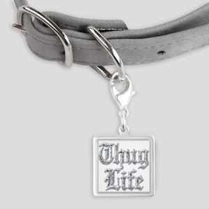 Diamond Bling THUG LIFE Pet Tags
