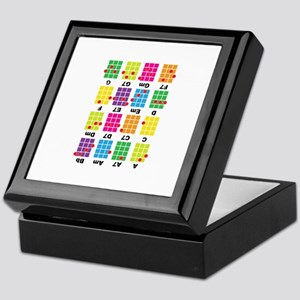 Chord Cheat Tee White Keepsake Box