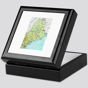 Maine Keepsake Box
