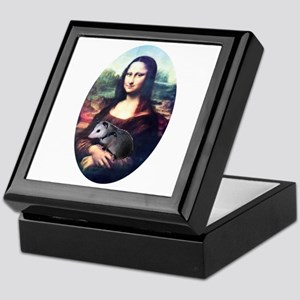 Mona Lisa Possum Keepsake Box