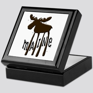 Maine Moose Keepsake Box