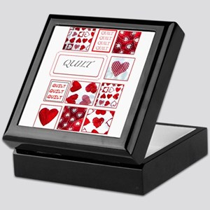 Love to Quilt Keepsake Box