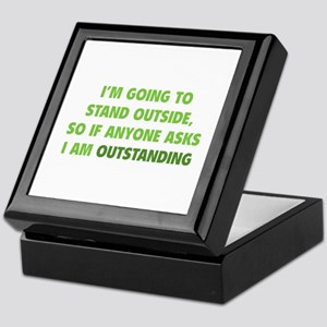 I Am Outstanding Keepsake Box