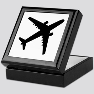 Airplane Jet Keepsake Box