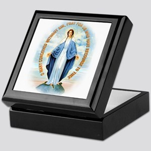 Miraculous Medal Keepsake Box