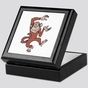 Monkey Excited Keepsake Box