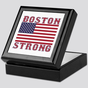 BOSTON STRONG U.S. Flag Keepsake Box