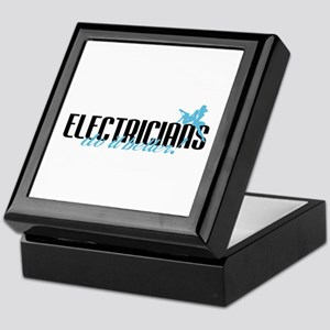 Electricians Do It Better! Keepsake Box