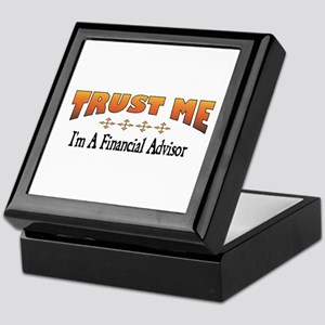 Trust Financial Advisor Keepsake Box