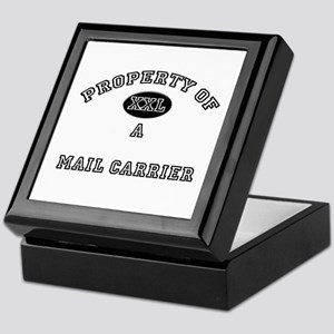 Property of a Mail Carrier Keepsake Box