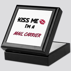 Kiss Me I'm a MAIL CARRIER Keepsake Box