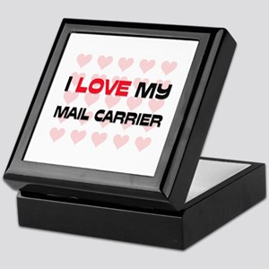 I Love My Mail Carrier Keepsake Box