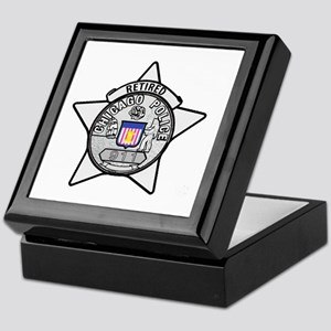 Retired Chicago PD Keepsake Box