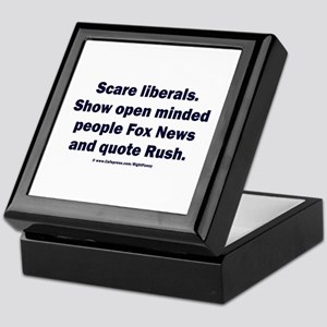 Scare Liberals Keepsake Box