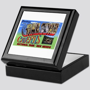 Carlsbad Caverns New Mexico Keepsake Box
