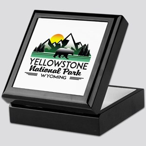 YELLOWSTONE NATIONAL PARK WYOMING MOU Keepsake Box