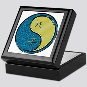 Pisces & Metal Rat Keepsake Box