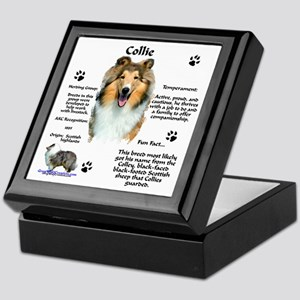 Collie 1 Keepsake Box