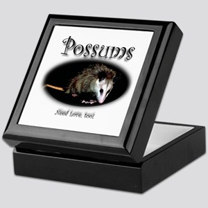 Possums Need Love Too Keepsake Box