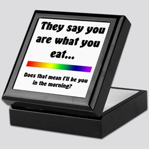 You Are What You Eat Keepsake Box