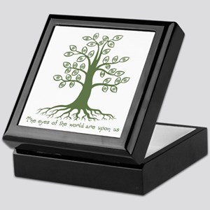 Eyes of the World Keepsake Box