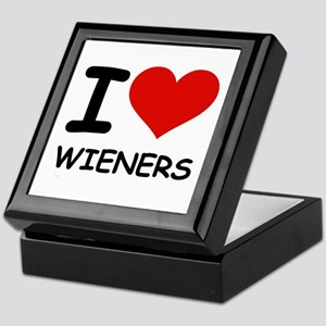I LOVE WIENERS Keepsake Box