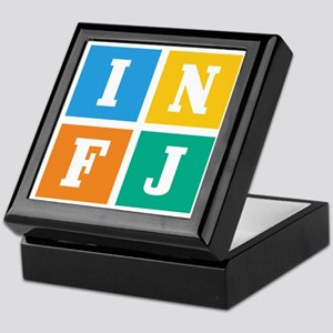 Myers-Briggs INFJ Keepsake Box
