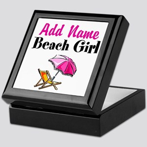 BEACH GIRL Keepsake Box