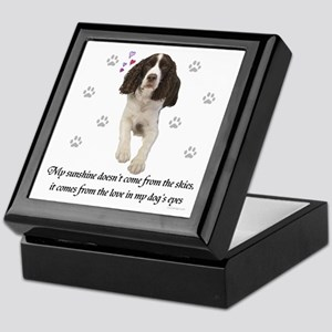English Springer Spaniel Keepsake Keepsake Box