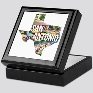 San Antonio Riverwalk, Texas Keepsake Box