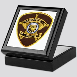 Tombstone Marshal Keepsake Box