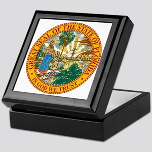 Florida State Seal Keepsake Box