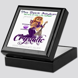 DJ Crystalic 10 10 Clear Keepsake Box