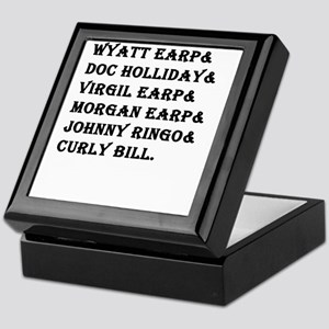 Tombstone Names Keepsake Box