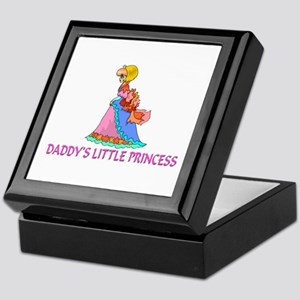 Daddy's Little Princess Keepsake Box