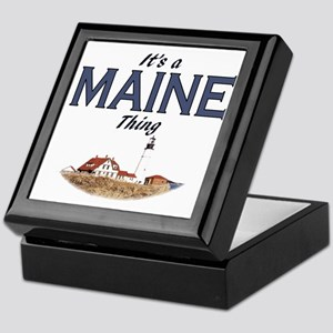 Its a Maine Thing Lighthouse Keepsake Box
