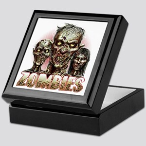 zombies Keepsake Box