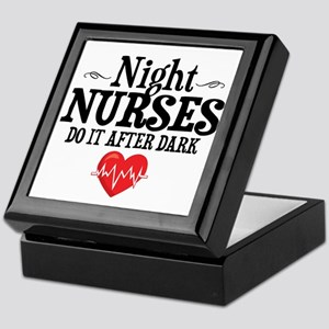 Night Nurse Keepsake Box