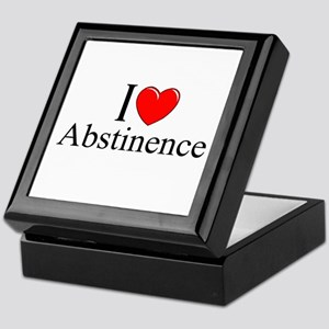 """I Love (Heart) Abstinence"" Keepsake Box"