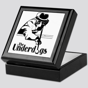 underdogsnew shirt white 2 Keepsake Box