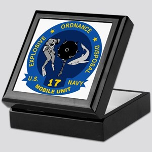 EOD Mobile Unit 17 Keepsake Box