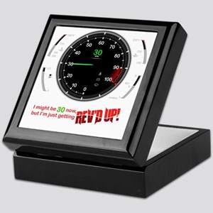 speedometer-30 Keepsake Box