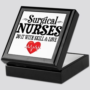 Surgical Nurse Keepsake Box
