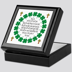 Irish Prayer Blessing Keepsake Box