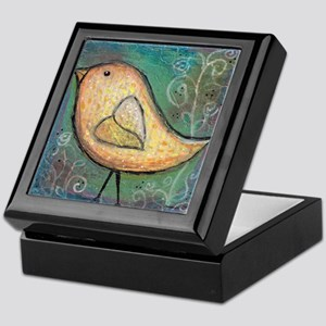 Summer Bird Keepsake Box
