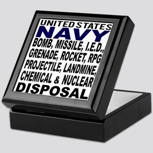 Navy Disposal Keepsake Box