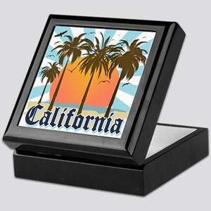 Vintage California Keepsake Box
