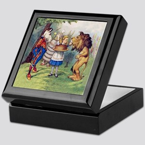 The Lion and The Unicorn Keepsake Box