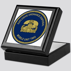 EOD Mobile Unit 2 Keepsake Box
