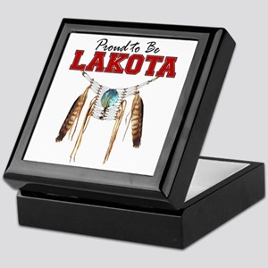 Proud to be Lakota Keepsake Box